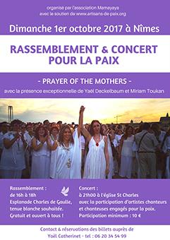 Rassemblement et concert pour la paix