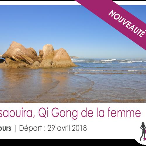 Stage Qi gong de la femme à Essaouira