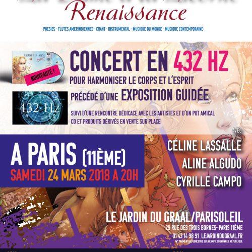 Concert Expérience en 432 Hertz, La Dame à la Licorne