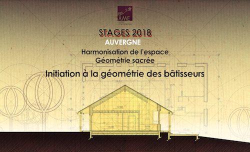 Initiation à la géométrie des bâtisseurs – Stage Auvergne