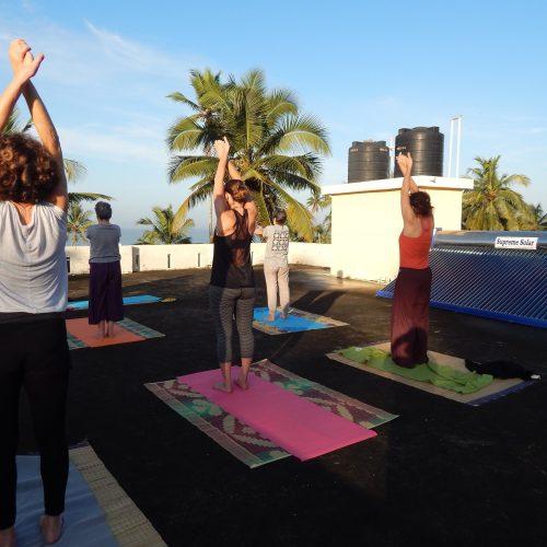 Ayurvéda, yoga et méditation au Kérala Inde, août 2018