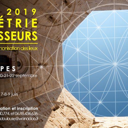 CURSUS 2019 – OCCITANIE – Géométrie des maîtres d'œuvres