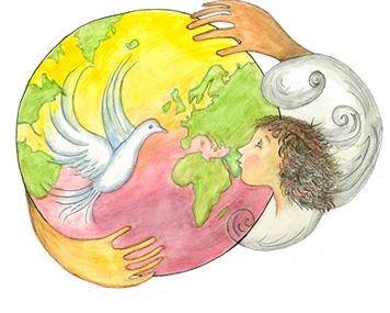 LA fraternité sur terre: la thérapie au service de la construction d'un monde meilleur.