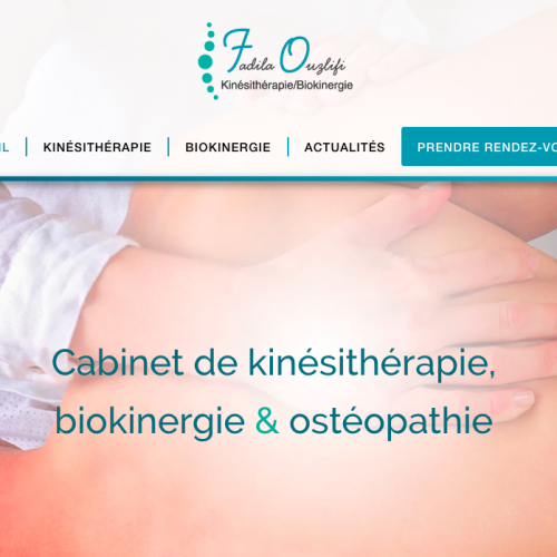 Fadila Ouzlifi biokinergiste en Seine-Saint Denis