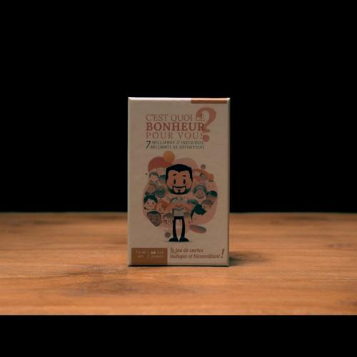 La vidéo du jeu de cartes bonheur