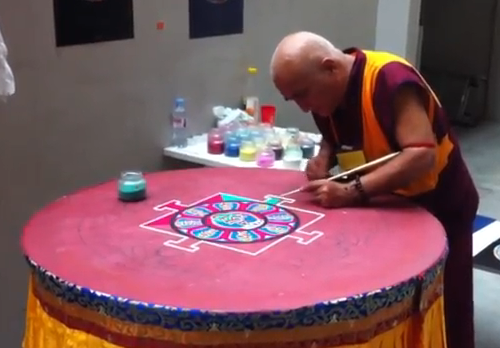 Video Mandala au Festival Yoga – Paris