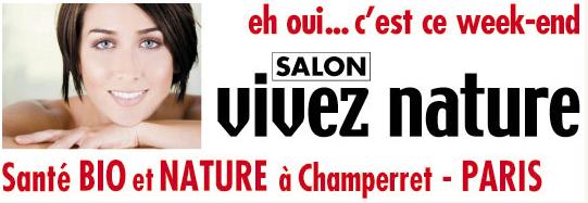 Salon vivez nature du 1 au 4 f vrier paris neo bien tre for Salon vivez nature