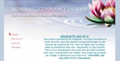 Site Internet Michel Thomas Therapeute Coach De Vie