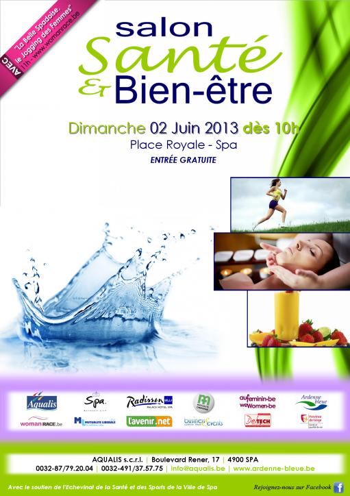 Salon sant et bien tre de spa 02 juin 2013 belgique for Salon de bien etre