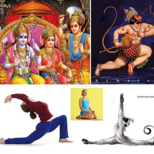 Yoga et développement personnel: Hanumasana, Anjaneyasana,Virasana