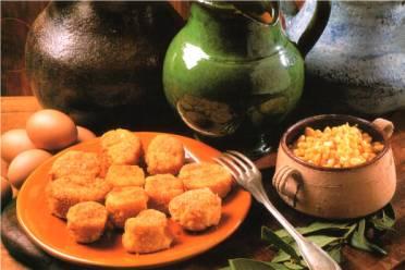 Recette végétarienne: Croquettes de maïs et de courgette