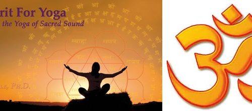 Yoga-Le sanskrit dans les cours de yoga