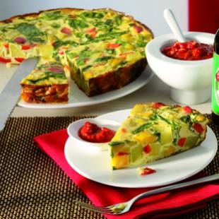 Recette végétarienne: Tortilla aux épinards et aux pommes de terre