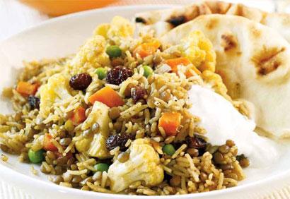 riz complet pilaf