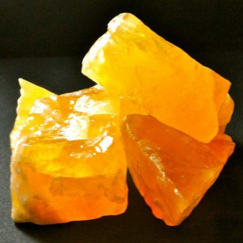 Bienfaits des minéraux-Calcite orange