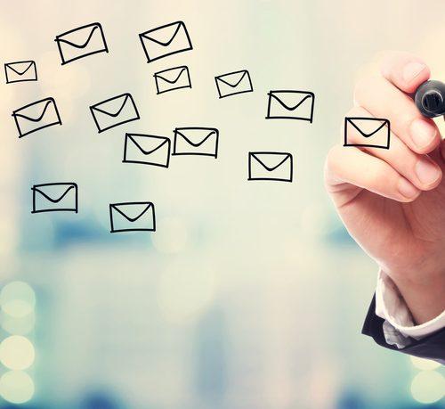 E-mailing thérapeute