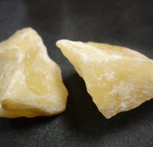 Lithothérapie-Calcite jaune