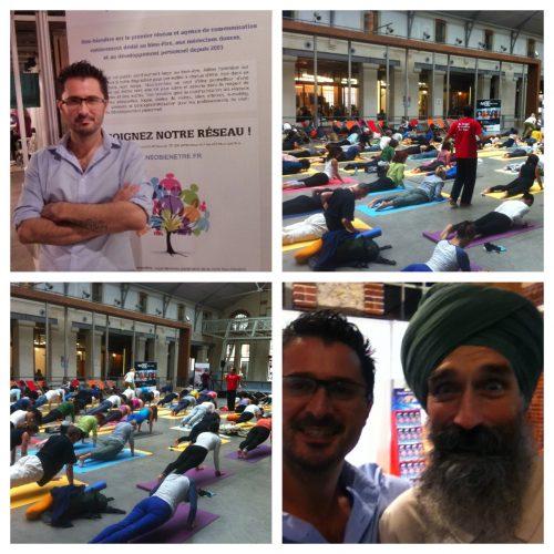 Retour du Yoga Festival de Paris 2013
