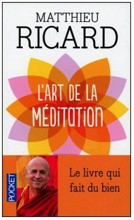 Livre de développement personnel-L'art de la méditation de Matthieu Ricard