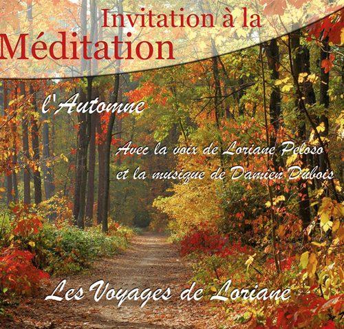 CD pour méditation les voyages de loriane