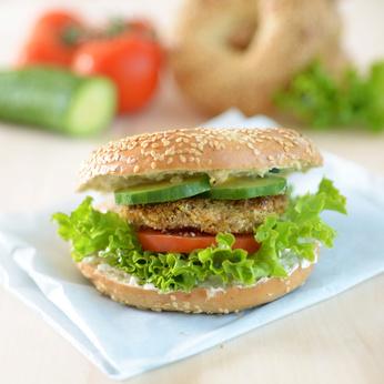 Recette végétarienne-Burger Vegan