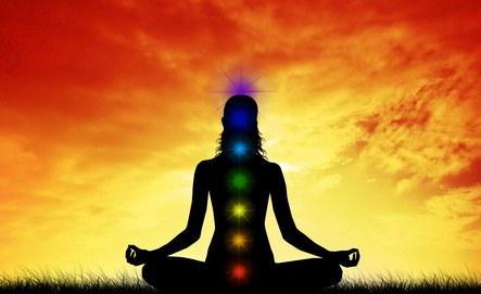 Méditation Om / Su sur Bol de Cristal