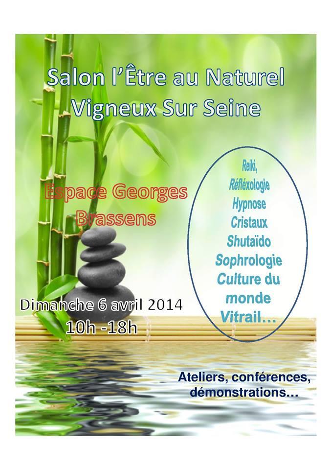 Salon de l 39 etre au naturel vigneux sur seine neo bien tre for Piscine de vigneux sur seine