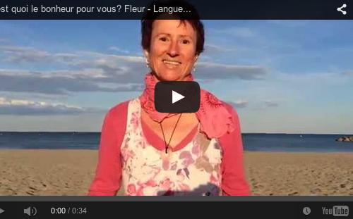 C'est quoi le bonheur pour vous? Fleur – Languedoc Roussillon