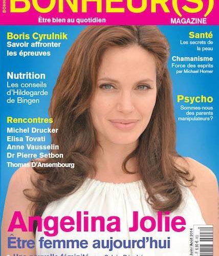 Le magazine Bonheurs partenaire de Neo-bienêtre