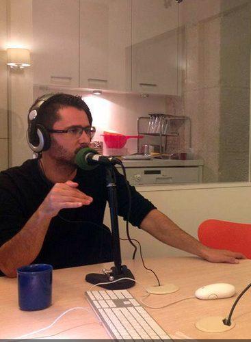 Julien Peron sur les ondes de Sud Radio
