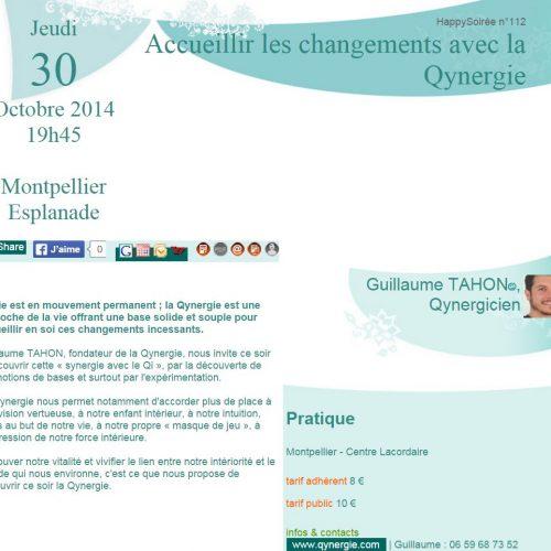 Conférence-Accueillir le changement avec la Qynergie