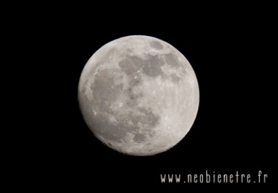 Pleine lune le 6 décembre