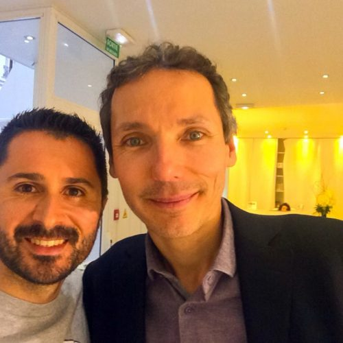 Julien Peron et Laurent Gounelle