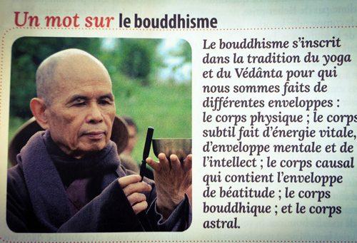 Un mot sur le bouddhisme