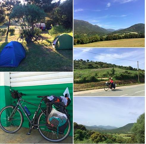 Le bonheur en Corse, vélo, yoga et méditation