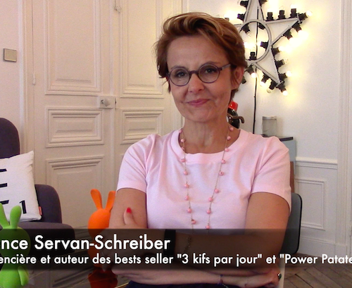 C'est quoi le bonheur pour vous Florence Servan-Schreiber?