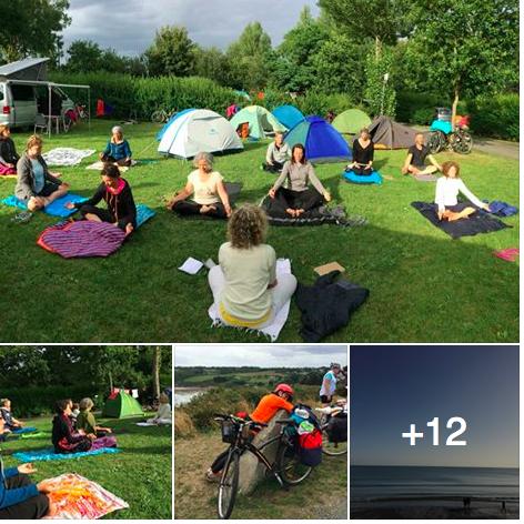 Méditation, vélo et yoga