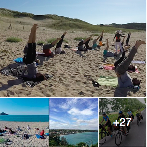 Yoga, méditation et vélo