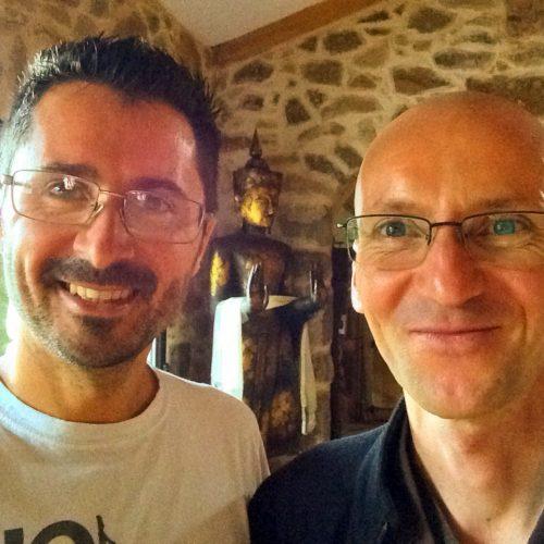 Frère Fabkhi et Julien Peron autour du bonheur au domaine de Lascoutch