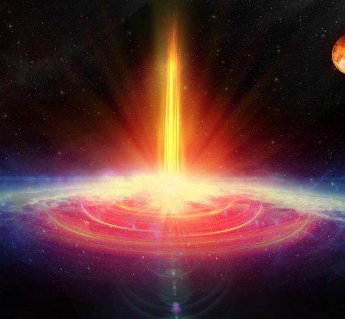 Une importante vague de rayons gamma touchera la Terre le 28 septembre