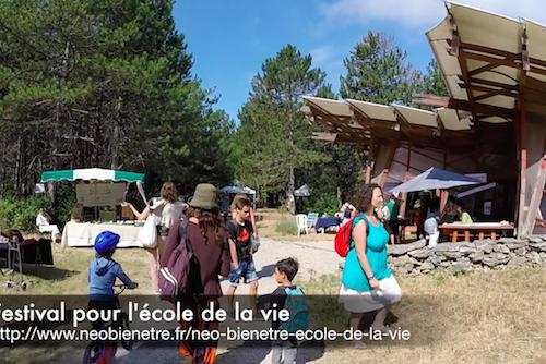 Vidéo du festival pour l'école de la vie