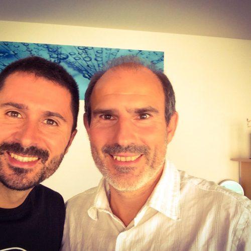 Julien Peron et Yves-Alexandre Thalmann autour du bonheur