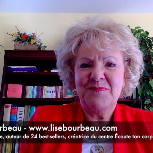 C'est quoi le bonheur pour vous Lise Bourbeau?