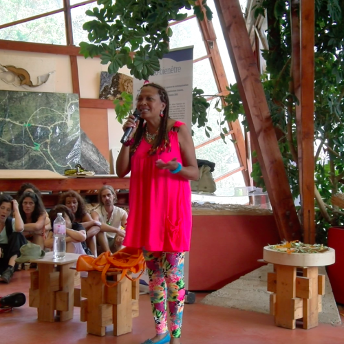 Johanne Razanamahay-Schaller au festival pour l'école de la vie 2015
