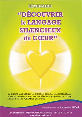 Découvrir Le langage silencieux du coeur