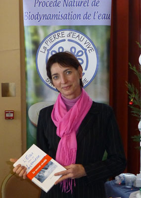 Isabelle PETIT, spécialiste de la qualité de l'eau domestique