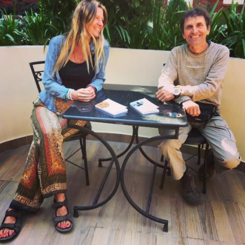 Interview de Daniel Zanin par Marie Milla : Marcher pour avancer vers soi-même!