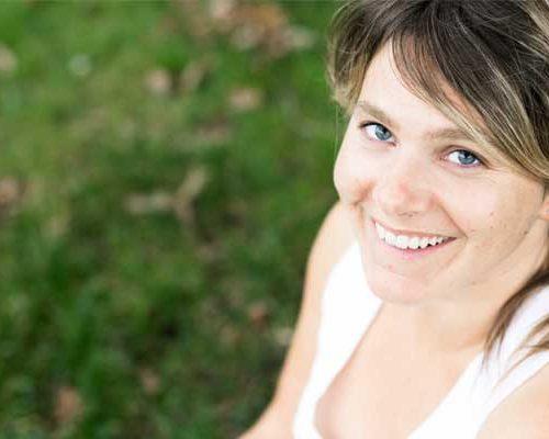 Audrey Achard, professeur de yoga à Sallanches, Rhône-Alpes