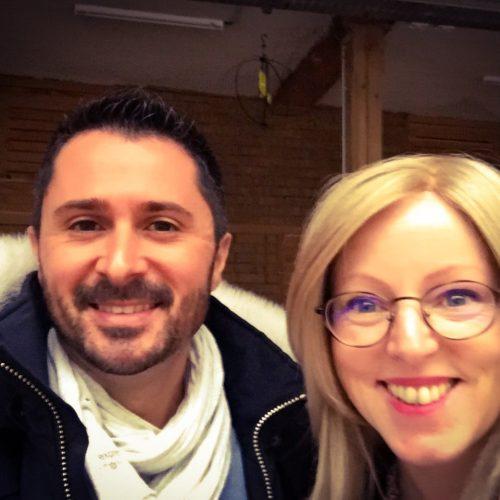 Julien Peron et Melusine Harlé autour du bonheur