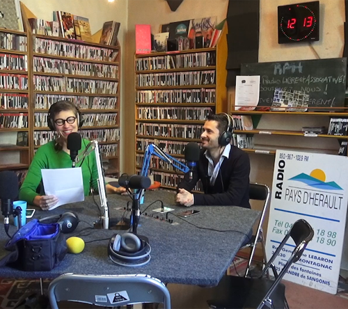 Julien Peron, interview chez radio RPH